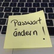 Passwörter ändern, Tipps von der Lanz Services GmbH