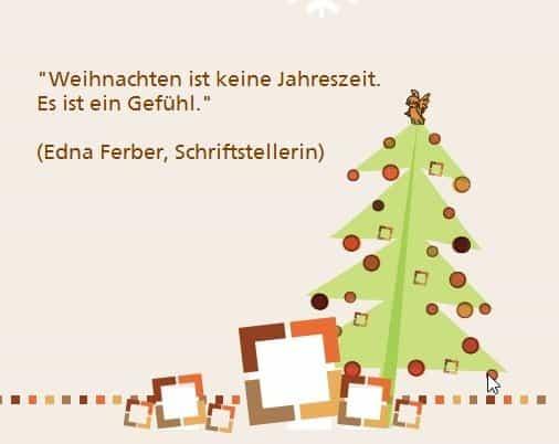 Weihnachten Ist.Weihnachten Ist Ein Gefühl Edna Ferber Lanz Services Gmbh It