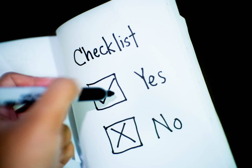 Business Checklist
