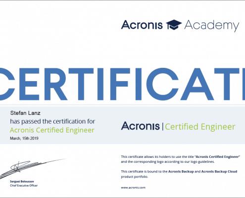 Zertifikat_Stefan_Lanz_Acronis_Certified_Engineer_Backup