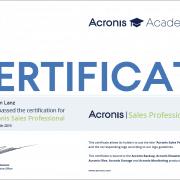 Zertifikat_Stefan_Lanz_Acronis_Sales_professional